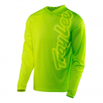 Troy Lee Designs Cross Shirt 2017 GP Air 50/50 - Flo Geel / Groen