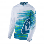 Troy Lee Designs Cross Shirt 2017 GP Air Electro - Wit