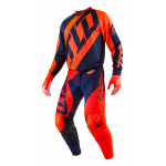 Troy Lee Designs Crosskleding 2017 GP Air Quest - Flo Oranje / Navy