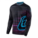 Troy Lee Designs Cross Shirt 2017 GP Electro - Zwart