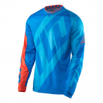 Troy Lee Designs Cross Shirt 2017 GP Quest - Cyan / Oranje