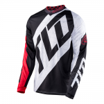 Troy Lee Designs Cross Shirt 2017 GP Quest - Rood / Wit / Zwart