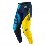 Troy Lee Designs Crossbroek 2017 GP Quest - Blauw / Geel
