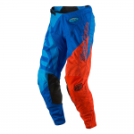 Troy Lee Designs Crossbroek 2017 GP Quest - Cyan / Oranje