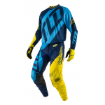 Troy Lee Designs Crosskleding 2017 GP Quest - Blauw / Geel