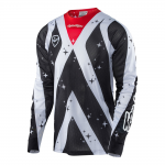Troy Lee Designs Cross Shirt 2017 SE Air Phantom - Wit / Zwart