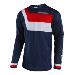 Troy Lee Designs Cross Shirt 2018 GP AIR Prisma - Navy