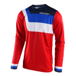 Troy Lee Designs Cross Shirt 2018 GP Prisma - Jeugd - Rood