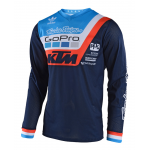 Troy Lee Designs Cross Shirt 2018 GP AIR Prisma Team - Navy