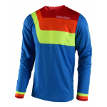 Troy Lee Designs Cross Shirt 2018 GP Prisma - Jeugd - Blauw