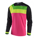 Troy Lee Designs Cross Shirt 2018 GP Prisma - Flo Roze