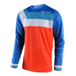 Troy Lee Designs Cross Shirt 2018 GP Prisma - Oranje