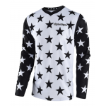 Troy Lee Designs Cross Shirt 2018 GP Star - Wit / Zwart