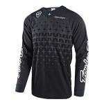 Troy Lee Designs Cross Shirt 2018 SE AIR Megaburst - Grijs / Zwart