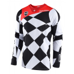 Troy Lee Designs Cross Shirt 2018 SE Joker - Wit / Zwart