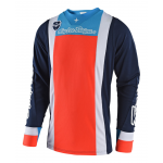 Troy Lee Designs Cross Shirt 2018 SE Squadra - Navy / Oranje