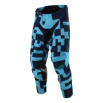 Troy Lee Designs Crossbroek 2018 GP AIR Maze - Jeugd - Turquoise / Navy