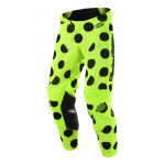 Troy Lee Designs Crossbroek 2018 GP AIR Polka Dot - Zwart / Flo Geel