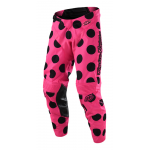 Troy Lee Designs Crossbroek 2018 GP Polka Dot - Zwart / Flo Roze