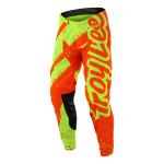 Troy Lee Designs Crossbroek 2018 SE AIR Shadow - Flo Geel / Oranje