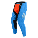 Troy Lee Designs Crossbroek 2018 SE AIR Squadra - Cyan / Oranje