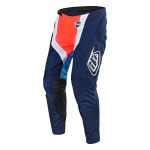 Troy Lee Designs Crossbroek 2018 SE Squadra - Navy / Oranje