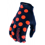 Troy Lee Designs Crosshandschoenen 2018 AIR Polka Dot - Jeugd - Navy / Oranje