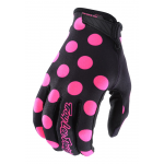 Troy Lee Designs Crosshandschoenen 2018 AIR Polka Dot - Zwart / Flo Roze
