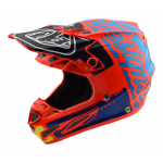 Troy Lee Designs Crosshelm 2018 SE4 Composite Factory - Oranje