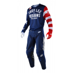 Troy Lee Designs Crosskleding 2018 GP AIR Americana - Navy