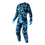 Troy Lee Designs Crosskleding 2018 GP AIR Maze - Jeugd - Turquoise / Navy