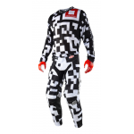Troy Lee Designs Crosskleding 2018 GP AIR Maze - Wit / Zwart