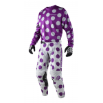 Troy Lee Designs Crosskleding 2018 GP Polka Dot - Paars / Grijs