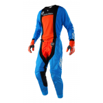 Troy Lee Designs Crosskleding 2018 SE AIR Squadra - Cyan / Oranje