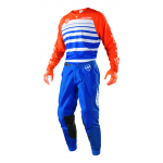 Troy Lee Designs Crosskleding 2018 SE Streamline - Blauw / Oranje