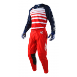 Troy Lee Designs Crosskleding 2018 SE Streamline - Rood / Navy