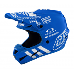 Troy Lee Designs Crosshelm 2020 SE4 LE Adidas Team - Blauw