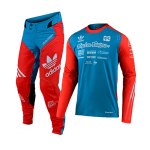 Troy Lee Designs Crosskleding 2020 SE Ultra LE Adidas - Oranje/Blauw