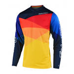 Troy Lee Designs Cross Shirt 2019F GP AIR Jet - Geel / Oranje