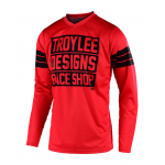Troy Lee Designs Cross Shirt 2019F GP Carlsbad - Rood