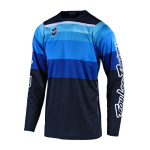 Troy Lee Designs Cross Shirt 2019F SE Spectrum - Blauw / Navy