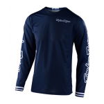 Troy Lee Designs Cross Shirt 2020F GP AIR Mono - Navy