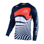 Troy Lee Designs Cross Shirt 2020F GP Drift - Navy / Oranje
