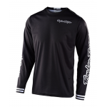 Troy Lee Designs Cross Shirt 2020F GP Mono - Zwart