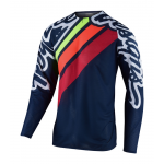 Troy Lee Designs Cross Shirt 2020F SE Pro AIR Seca 2.0 - Navy / Oranje