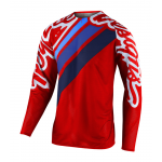 Troy Lee Designs Cross Shirt 2020F SE Pro AIR Seca 2.0 - Rood / Navy