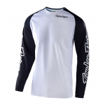 Troy Lee Designs Cross Shirt 2020F SE Pro Solo - Wit