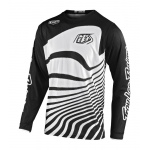 Troy Lee Designs Cross Shirt 2020S GP AIR Drift - Zwart / Wit