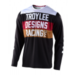 Troy Lee Designs Cross Shirt 2020S GP Continental - Zwart