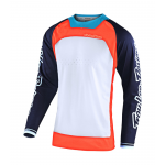 Troy Lee Designs Cross Shirt 2020S SE Pro Boldor - Oranje / Navy